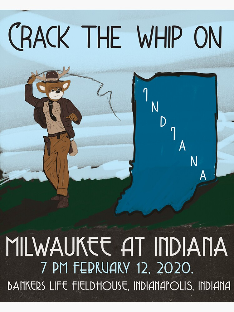 Crack the Whip on Indiana by AJW3-Art