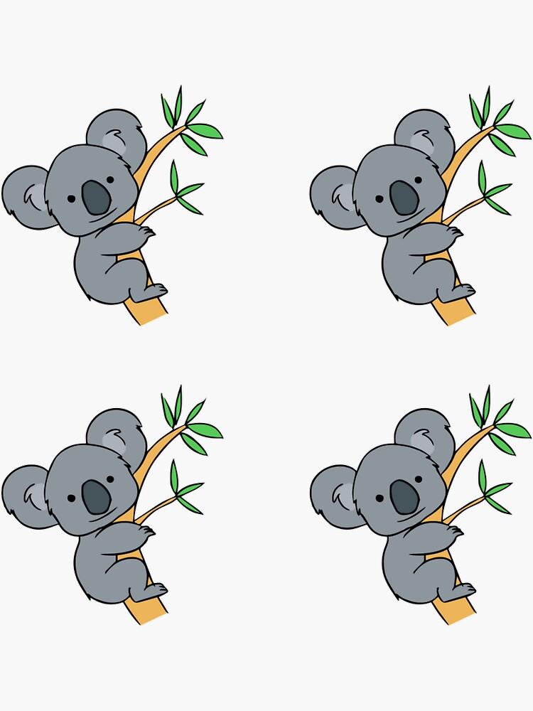 Paquete de pegatinas Koala de Fashsion2016