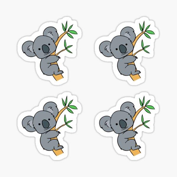 Paquete de pegatinas Koala Pegatina