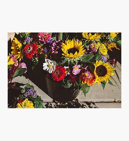 Autumn Bouquet Photographic Print