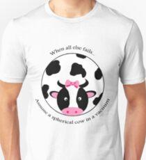 Spherical Cow Slim Fit T-Shirt