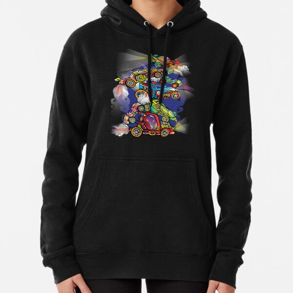Toy Cars Pullover Hoodie