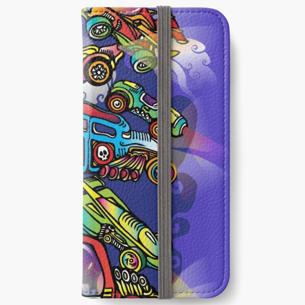 Toy Cars iPhone Wallet