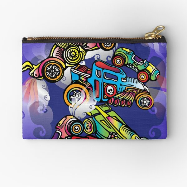 Toy Cars Zipper Pouch