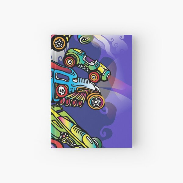 Toy Cars Hardcover Journal