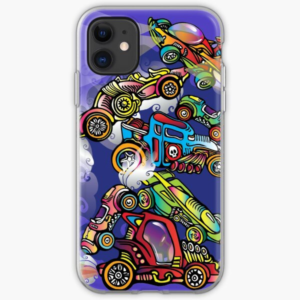 Toy Cars iPhone Soft Case