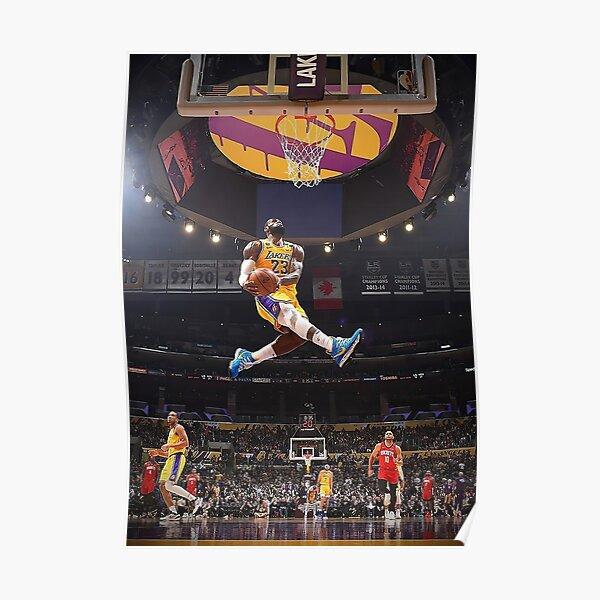 Lebron Dunk Poster