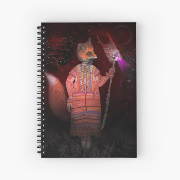 Vasilisa Fox Russian Folktale Spiral Notebook