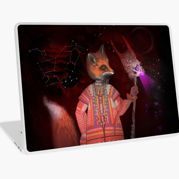 Vasilisa Fox Russian Folktale Laptop Skin