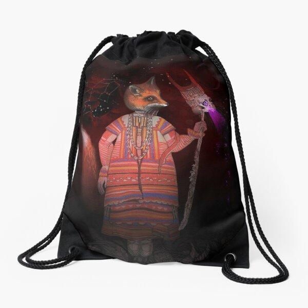 Vasilisa Fox Russian Folktale Drawstring Bag