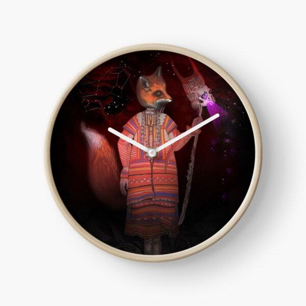 Vasilisa Fox Russian Folktale Clock