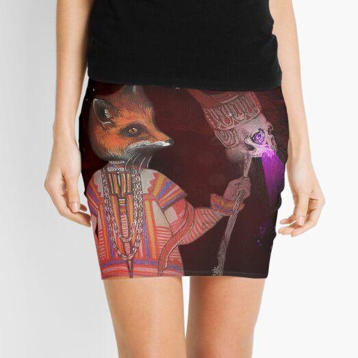 Vasilisa Fox Russian Folktale Mini Skirt