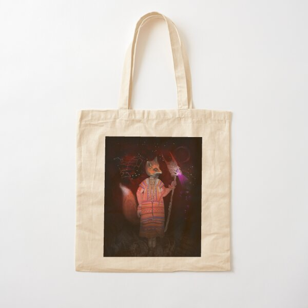 Vasilisa Fox Russian Folktale Cotton Tote Bag
