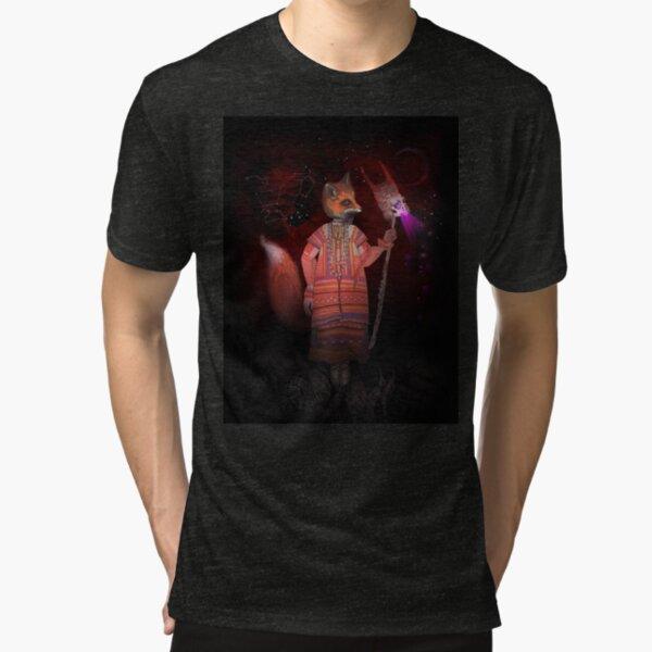 Vasilisa Fox Russian Folktale Tri-blend T-Shirt