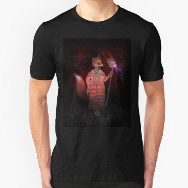 Vasilisa Fox Russian Folktale Slim Fit T-Shirt