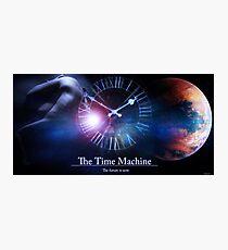 Time Machine Photographic Print