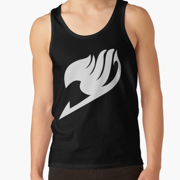 Fairy Tail - Logo (blanc) Débardeur