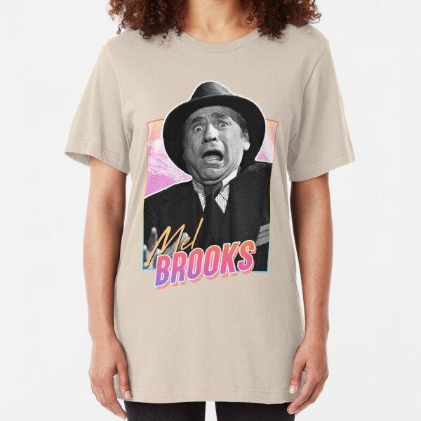 Mel Brooks - 80s design Slim Fit T-Shirt