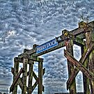 Ferry Dock Sign (HDR) by James Zickmantel