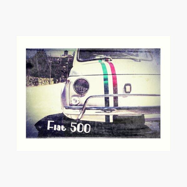 Fix It Again Tony no more The Fiat Art Print