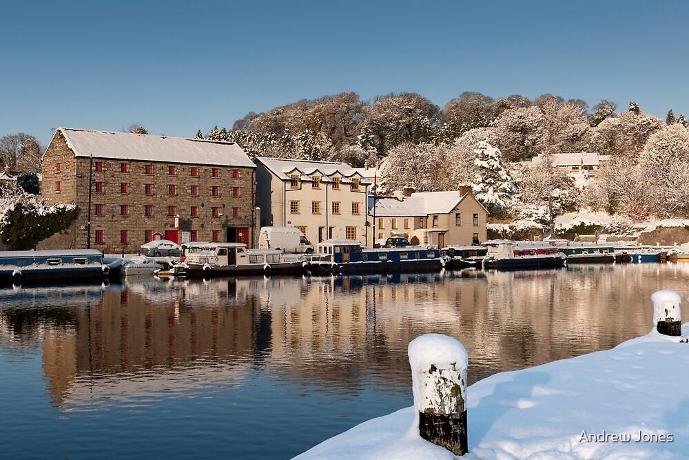 Winter Reflections on the River Barrow, Graiguenamanagh, County Kilkenny, Ireland by Andrew Jones