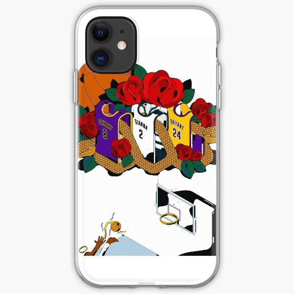Kobe & Gigi Basketball Jerseys iPhone Soft Case