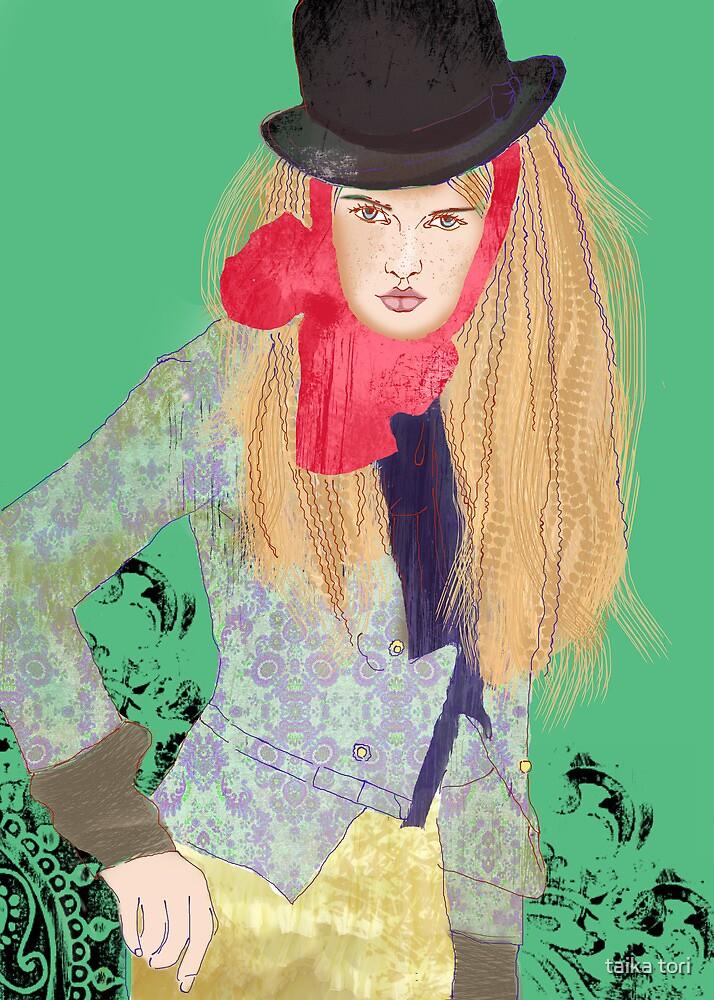 female dandy by Elisandra