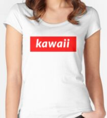 Kawaii Women's Fitted Scoop T-Shirt