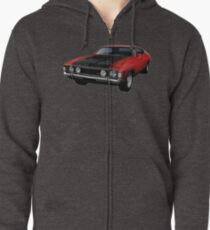 Ford Falcon XA GT Coupe Zipped Hoodie