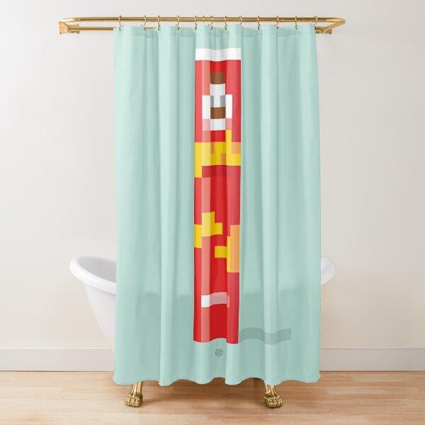 That pop Shower Curtain