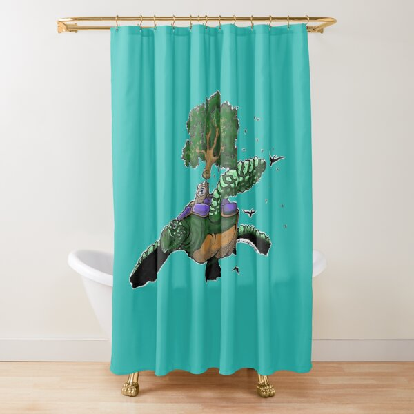 Vitreous Humor Shower Curtain