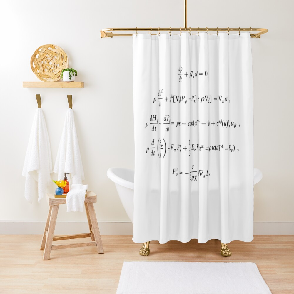 Extended Mihalas's radiation-hydrodynamic equations to a more general case including convection Shower Curtain