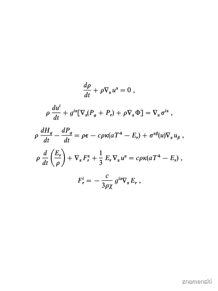 Extended Mihalas's radiation-hydrodynamic equations to a more general case including convection by znamenski