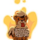 Pokeshaming - Growlithe by Zedrin