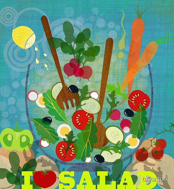 I love salad by Elisandra Sevenstar
