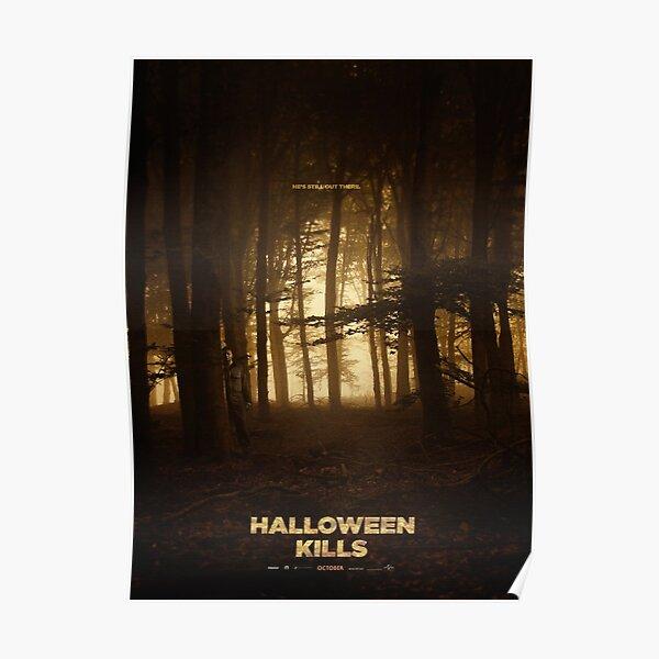 Halloween Kills Poster Poster
