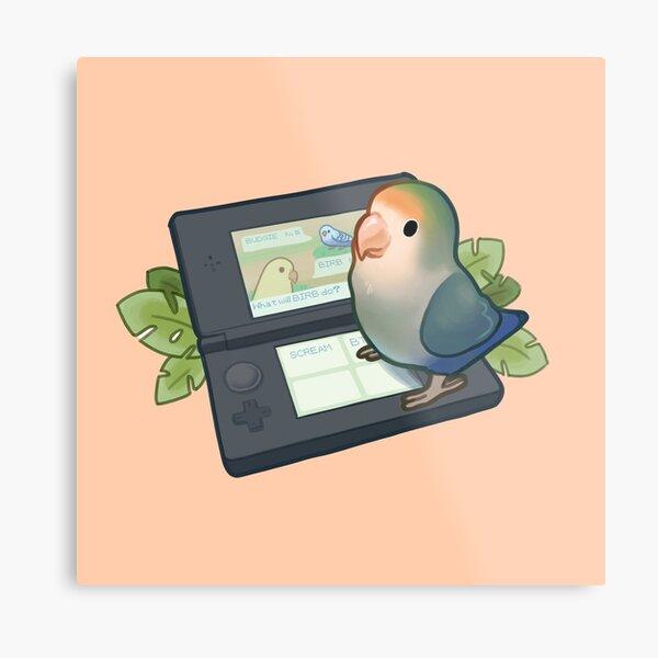 Gamer bird Metal Print