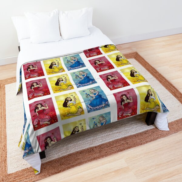 Primary Birds Comforter
