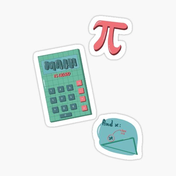 Algebra pack Sticker