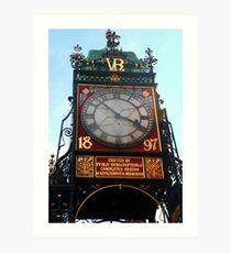 Chester Clock Tower Art Print