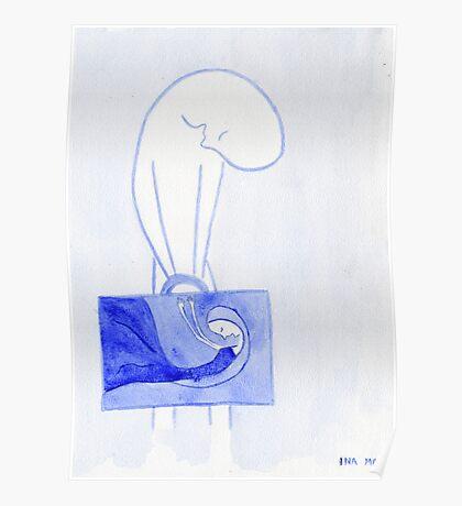 lonely traveler (dream world) Poster