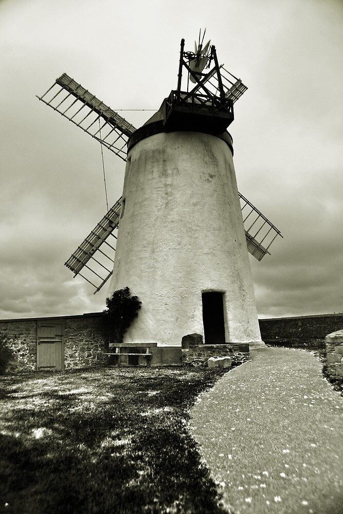 Ballycopeland Windmill by Chris Cardwell