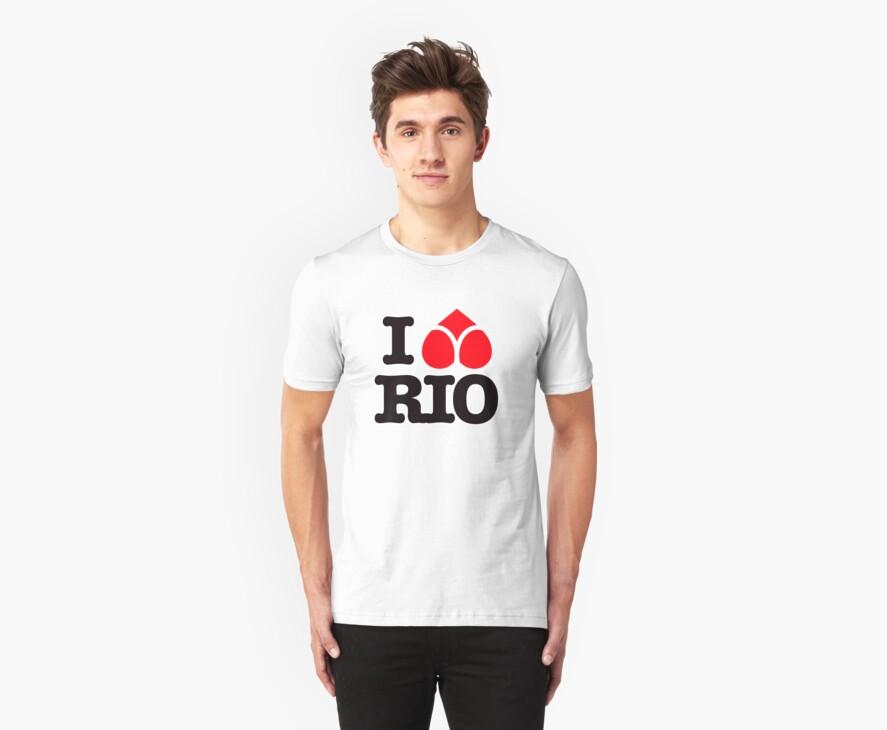 I LOVE RIO by Rene Juan de la Cruz