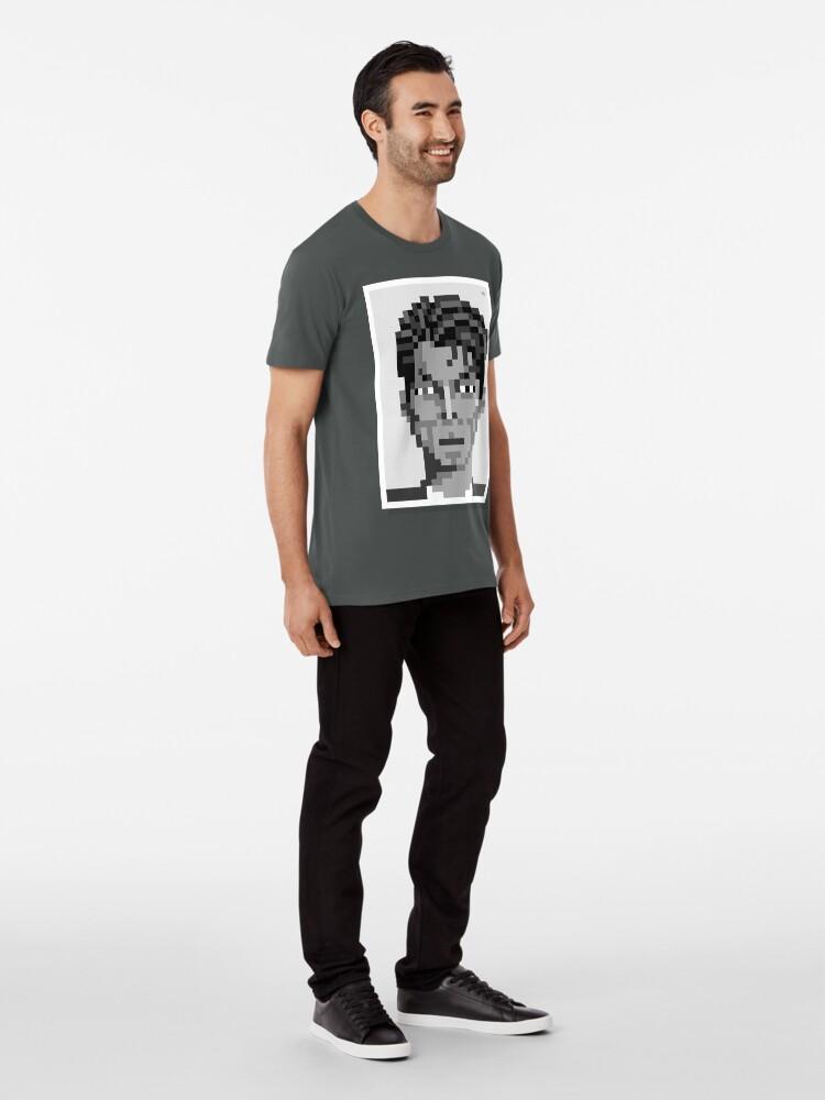 Alternate view of His ashes — Mono Premium T-Shirt