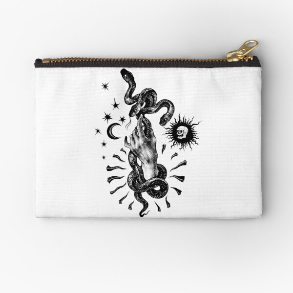Martial Snake Zipper Pouch