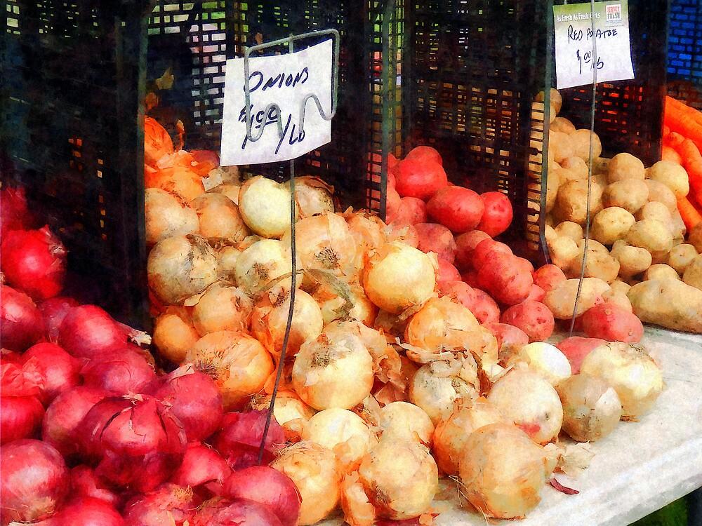 Onions and Potatoes by Susan Savad