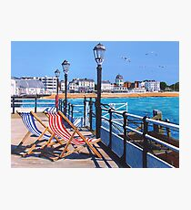 Pier days and Matinees Photographic Print