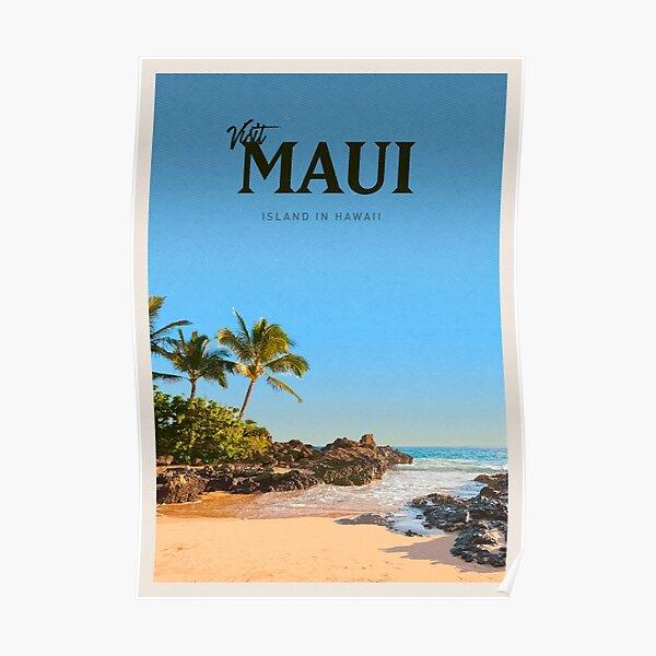 Visit Maui Poster
