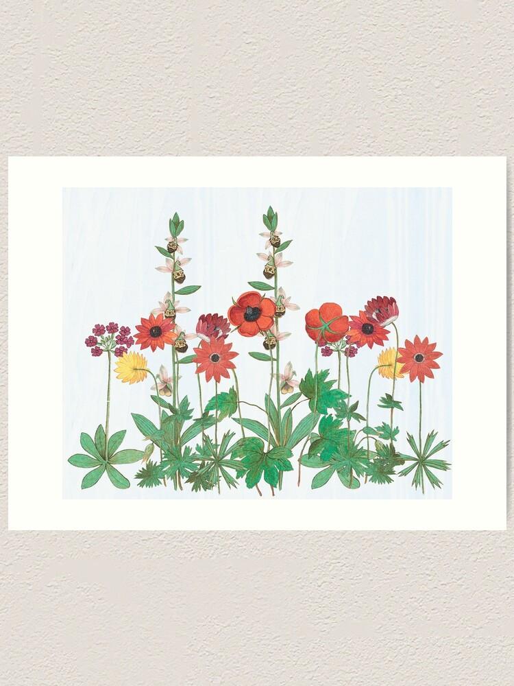 Alternate view of Grow a garden Art Print
