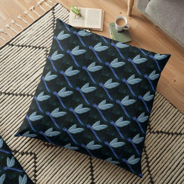 Dragonfly Floor Pillow
